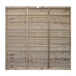 Double Lap Fencing Panel | Garden Fence Panels
